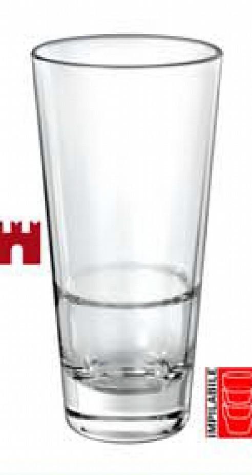 Slim Glass Tumbler