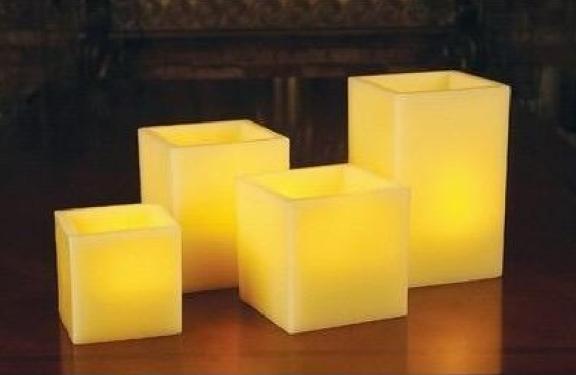Square Shape LED Candle