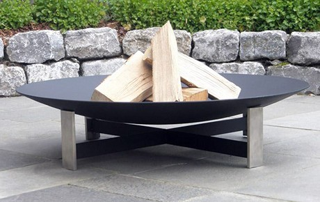 Stainless Steel Fire Pits