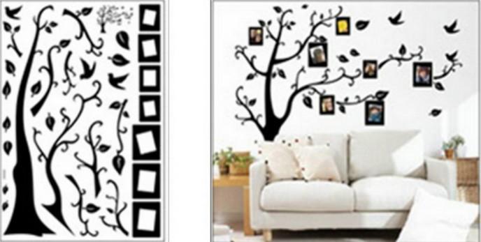 Wall sticker , size W 50 x L 70cm