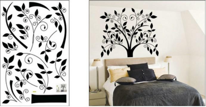 Wall stickers, size W50 x L70cm