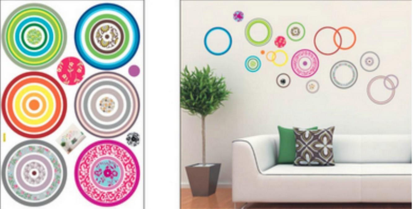 wall sticker W 50 x L 70cm