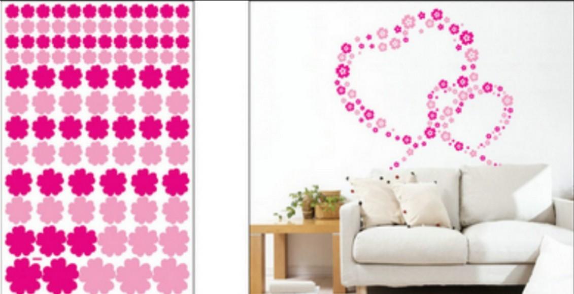 Wall sticker, size W50 x L70cm
