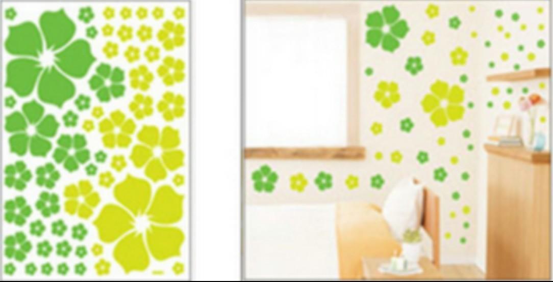 wall stickers, size W 50 x L 70cm