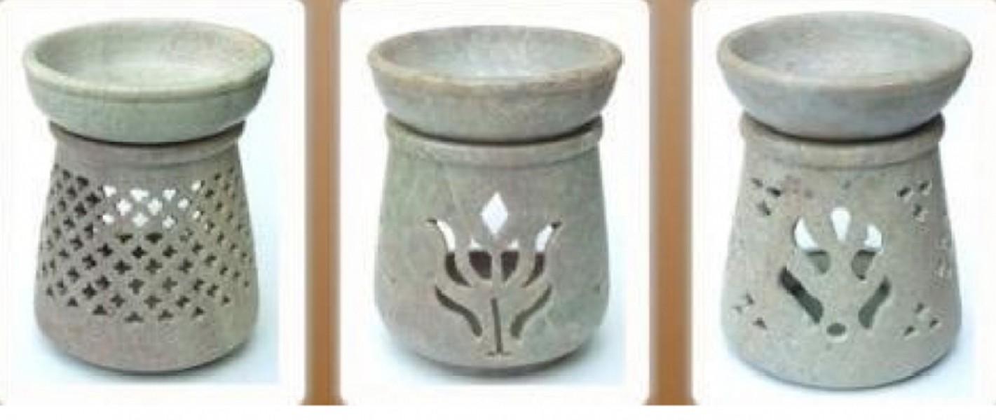 Tealight Soapstone Aroma Diffuser