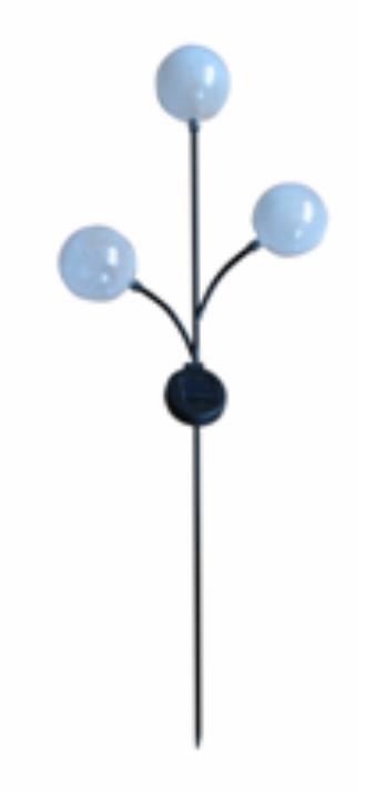 Triple Clear Ball Solar Light Stick