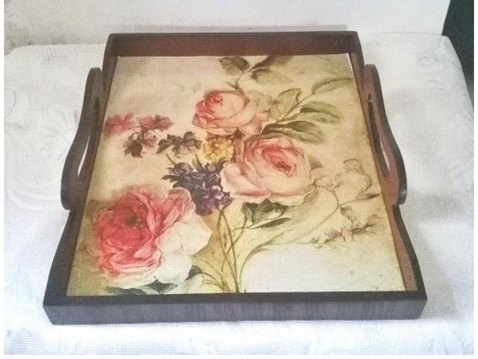 Wooden tray1