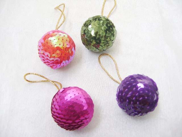 Christmas Balls  Beads  Design