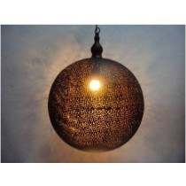 Lamp ball W/ Mash etching