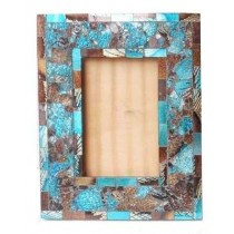 Morden Glass Decorative Wooden Photo Frame