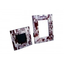 Mosaic Wooden Photo Frame Set