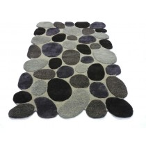Natural Hand Tufted Carpet, 8 X 12