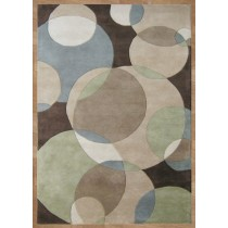 Hand Tufted Wool Carpet, 8 X 12