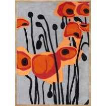 Modern Design Hand Tufted Carpet, 8 X 12