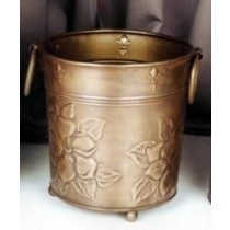 Antique Brass Metal Planter Size 15x15x22 CM