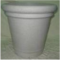 Stylish 12 Inch Height Plastic Planter