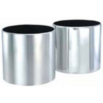 Classic Cylinder Shape Metal Planter