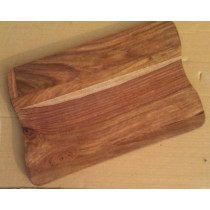 15'' x 9''Decorative Curved Wooden Chopping Board