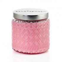 Rose Oil Scented Glass Jar Candles