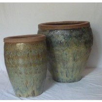 61cm Earthenware Style Ceramic Planter