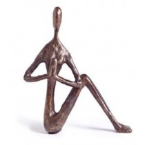 Brown colour  Human Shape Decorative Sculpture