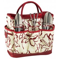 Multi-Pocket Gardening Tote With Tools