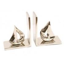 Aluminium Sailing Boat Bookends,  Size -  8X11x16 CM