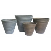 Anti Grey Finish 41.2cm Flower Pots