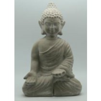 Antique Cement Buddha For Garden Decor