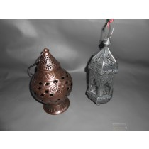 Antique Copper Hanging Lanterns -Small Size