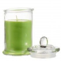 Round Scented Glass Jar Candles