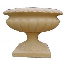 Artificial Sandstone Carved 1100mm Antique Flowerpot