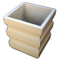 Artificial Sandstone Square Simple Flowerpot