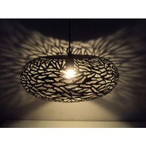Ball Lamp Tyre  with zebra etching- large size