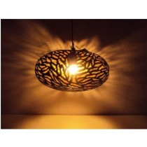 Ball Lamp Tyre  with zebra etching- Small size