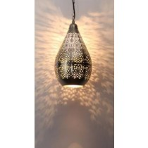 Balloon type hanging  lamp-Net Etch