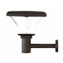 Black lamp body Solar Super Bright Wall Light (PIR optional)