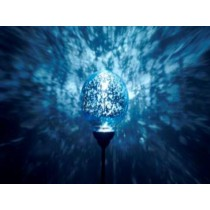 Blue-outdoor solar lights decorative