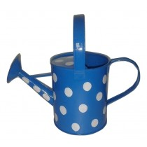 Blue Color Polka Dots Watering Can