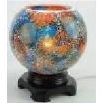 Blue Crystal Mosaic Fragrance Lamp