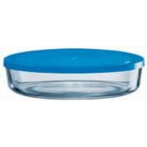 Blue Lid Storage Box
