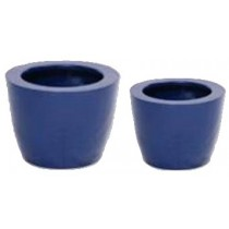 Blue Small Polystone Fantasy Planter