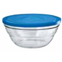 Bowl Lambda With Blue Lid
