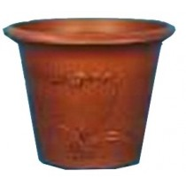 Brown Copper Stone Orchid Style Rotomould Pot