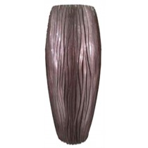 Brown Tall 70 cm Height Fiberglass Planter