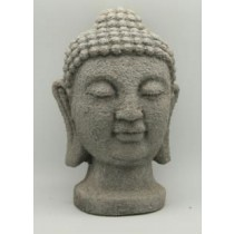 Buddha Head Rustic Cement Garden Ornaments
