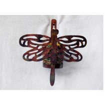 Butterfly Designed Wall Hanging Votive Holder
