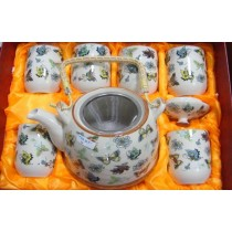Butterfly pattern Tea Set