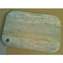 Butternut Square Curved  Wooden Chopping Board