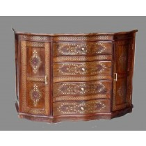 """Cabinet carving in sheesham Wood-60"""""""
